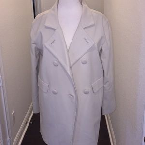 💥Talbots Creme 3/4 Length Jacket- Sz-4 💥